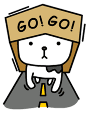 The Dog in the Box (English version) sticker #181890