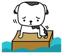 The Dog in the Box (English version) sticker #181907