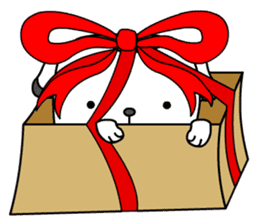 The Dog in the Box (English version) sticker #181910