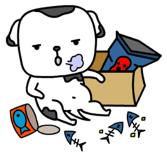 The Dog in the Box (English version) sticker #181914