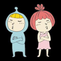 Spaceman & Denpa girl