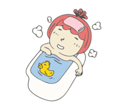 Spaceman & Denpa girl sticker #181995