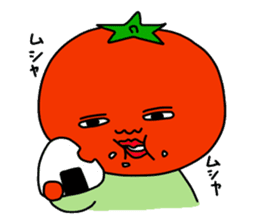 Tomato and green onion sticker #182176