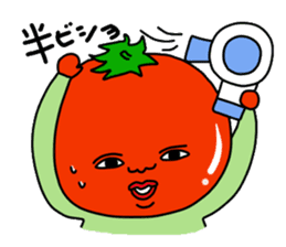 Tomato and green onion sticker #182194