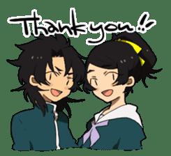 machikado rendezvous sticker #182523