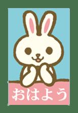 usagi's message sticker #182690