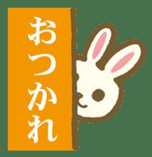 usagi's message sticker #182697