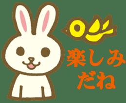 usagi's message sticker #182724