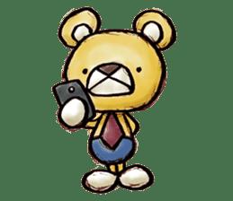 Working Bear sticker #183577