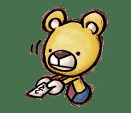 Working Bear sticker #183578