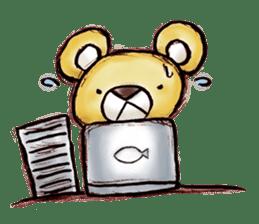Working Bear sticker #183579