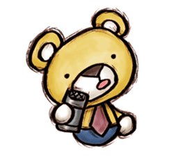 Working Bear sticker #183585