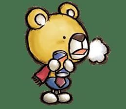 Working Bear sticker #183601
