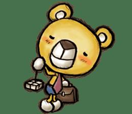 Working Bear sticker #183602