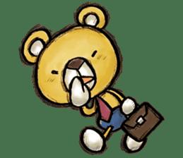 Working Bear sticker #183605