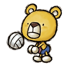 Working Bear sticker #183608