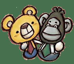Working Bear sticker #183609