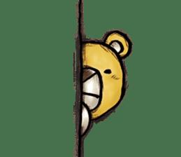 Working Bear sticker #183610
