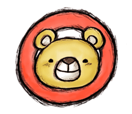 Working Bear sticker #183615