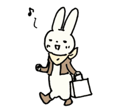 Usada Kunio sticker #183676
