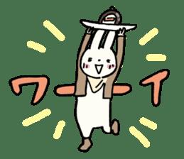 Usada Kunio sticker #183677