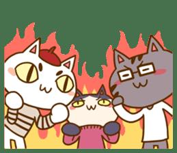 Cat creators sticker #184333