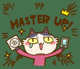 Cat creators sticker #184342