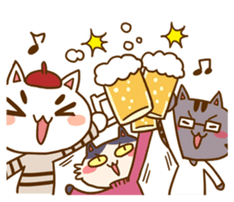 Cat creators sticker #184343