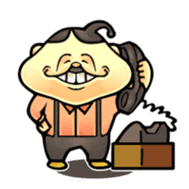 anglerfish uncle sticker #184712