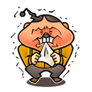 anglerfish uncle sticker #184720