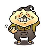 anglerfish uncle sticker #184723