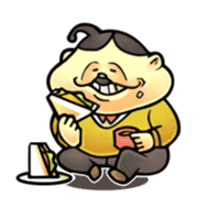 anglerfish uncle sticker #184725