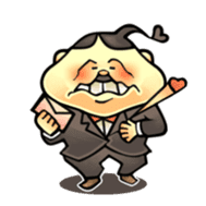 anglerfish uncle sticker #184726