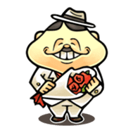 anglerfish uncle sticker #184729