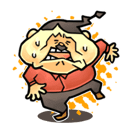 anglerfish uncle sticker #184734