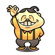 anglerfish uncle sticker #184735