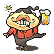 anglerfish uncle sticker #184738