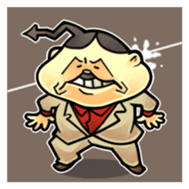 anglerfish uncle sticker #184740