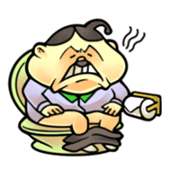 anglerfish uncle sticker #184741