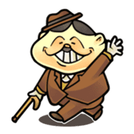 anglerfish uncle sticker #184743