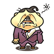 anglerfish uncle sticker #184744