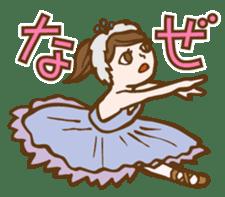 Mademoiselle Pointe's Ballet sticker #185911
