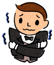 Butler Boy sticker #186163