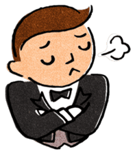 Butler Boy sticker #186169