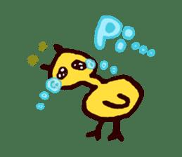 Piyo piyo piyo-ko baby chicks sticker #186119