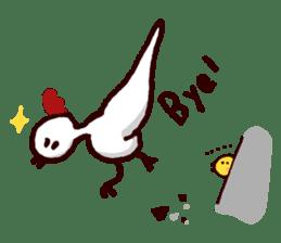 Piyo piyo piyo-ko baby chicks sticker #186138