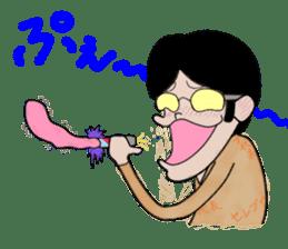 Ironical Mr. Ishikawa sticker #186328