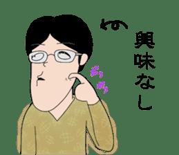 Ironical Mr. Ishikawa sticker #186337