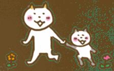 CAT STAMP sticker #187318