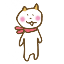 CAT STAMP sticker #187322
